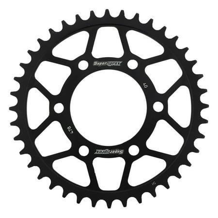 Rear Wheel Sprocket - Rear Steel Sprocket Black For Aftermarket Wheels Carrozzeria 520 pitch 80.11 mm bore 6 bolts 00, PerFormance Machine 520 pitch 04 05 06 07 08 09 10 11