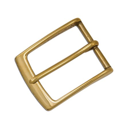 Embossed Brass Buckle - Tandy Leather Midtown Belt Buckle 1-1/2