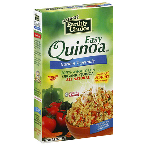 Nature's Earthly Choice Garden Vegetable Quinoa, 4.9 oz, (Pack of 6)