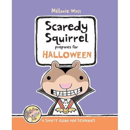 Scaredy Squirrel Prepares for Halloween - Decorate Your Office Door For Halloween