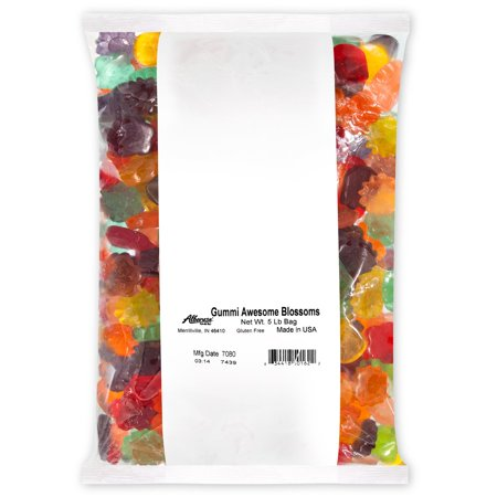 Gummi Awesome Blossoms Bulk Candy, 5 Lb (Candy Blossom)