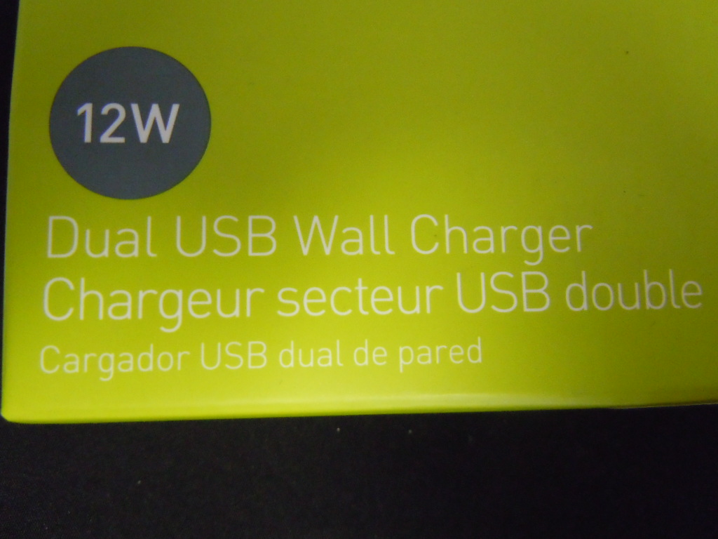 Pure Gear Dual USB Wall Charger 12 W - Retail Packaging - White ...