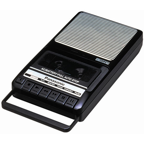 Panasonic Shoebox Tape Recorder with Counter and Auto-Stop by Panasonic