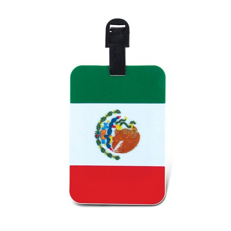Luggage Tags Mexican Flag Luggage Tags Mexican Flag
