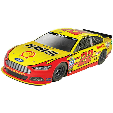 Revell SnapTite Max 1:24 NASCAR Joey Lagano #22 Shell Pennzoil Ford Fusion Plastic Model Kit