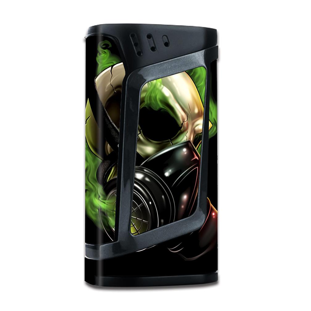 Skins Decals For Smok Alien 220W Tc Vape Mod   Gas Mask Skeleton by Itsaskin