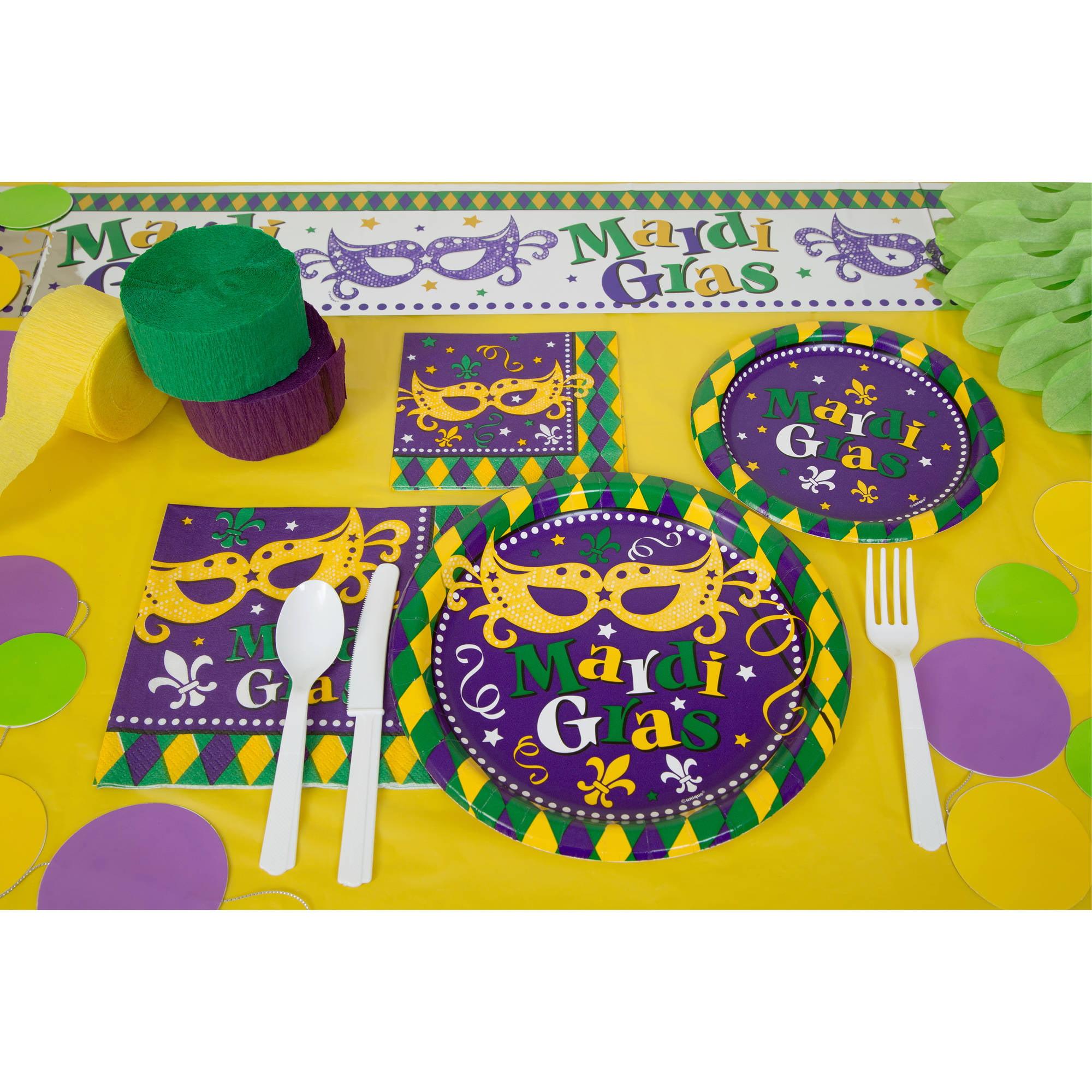 Masquerade Mardi Gras Party Supplies - Walmart.com