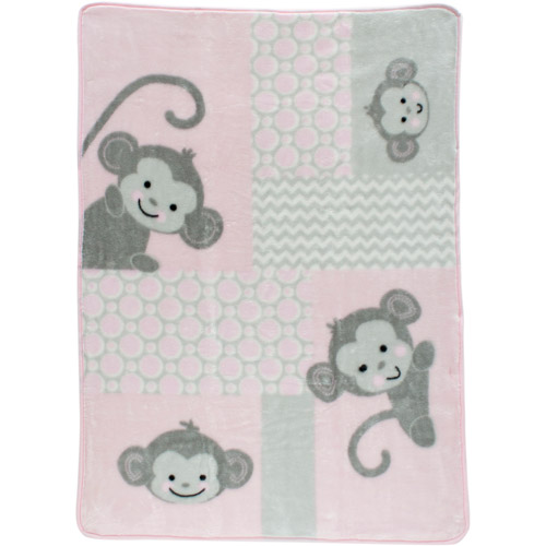 Lambs & Ivy Bedtime Originals Pinkie Warm & Cozy Blanket