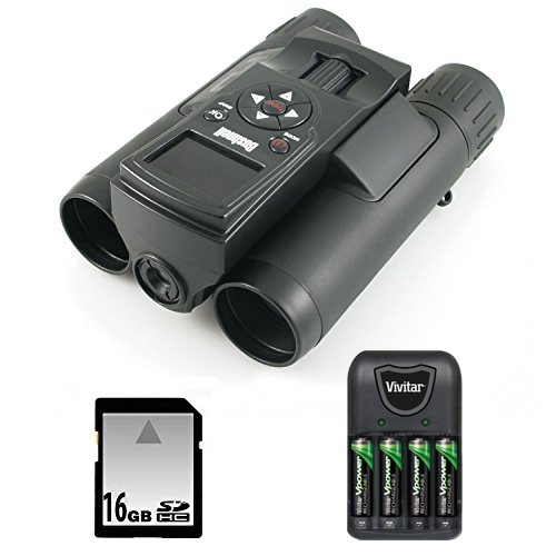 Bushnell 118328 Imageview Binoculars with 16 Gigabyte SD ...