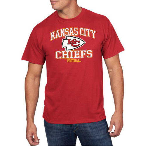 NFL Men's Kansas City Chiefs Short Sleeve Tee