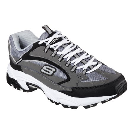 e003a13bedc6 Skechers - 51286 EW Wide Fit Charcoal Skechers Shoes Men Memory Foam  Athletic Train Comfort - Walmart.com