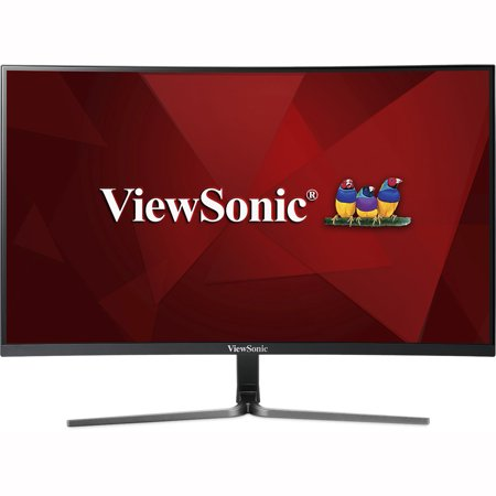 ViewSonic VX3258-2KC-MHD 32 Inch 1440p Curved Ultrawide 144 Hz Gaming Monitor with FreeSync Eye Care HDMI and (Best 30 Inch Gaming Monitor)