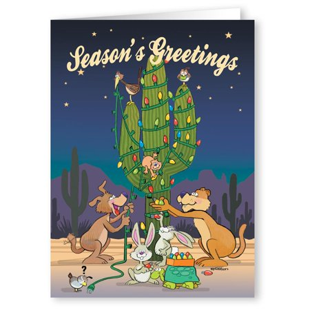 Desert critters cactus tree funny holiday christmas cards 18 desert critters cactus tree funny holiday christmas cards 18 cards and 19 envelopes m4hsunfo
