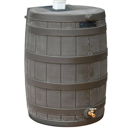 Good Ideas Rain Wizard 50 Gallon Rain Barrel - (Gallon Water Storage Barrel)