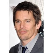 Ethan Hawke At Arrivals For BrooklynS Finest Premiere Stretched Canvas -  (16 x 20)