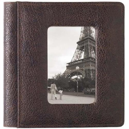 Raika RO 170 MOCHA Frame Front Scrapbook Album - Mocha