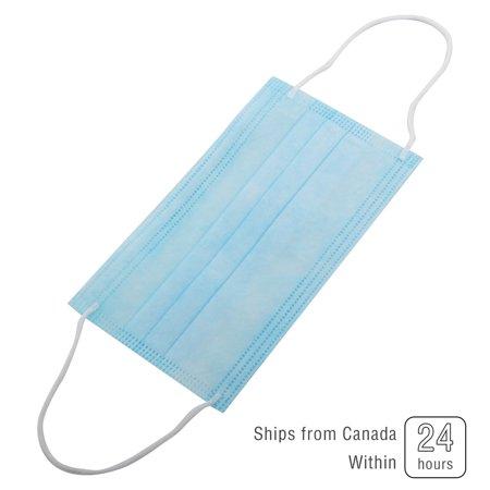 50PCS Disposable 3-Layer Comfortable Sanitary Masks - image 2 of 6
