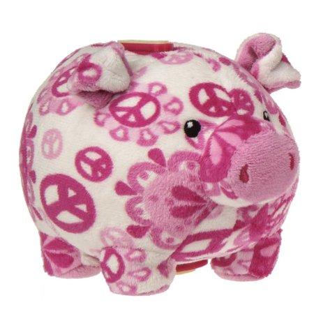 Mary Meyer Print Pizzazz Piggy Bank, 6
