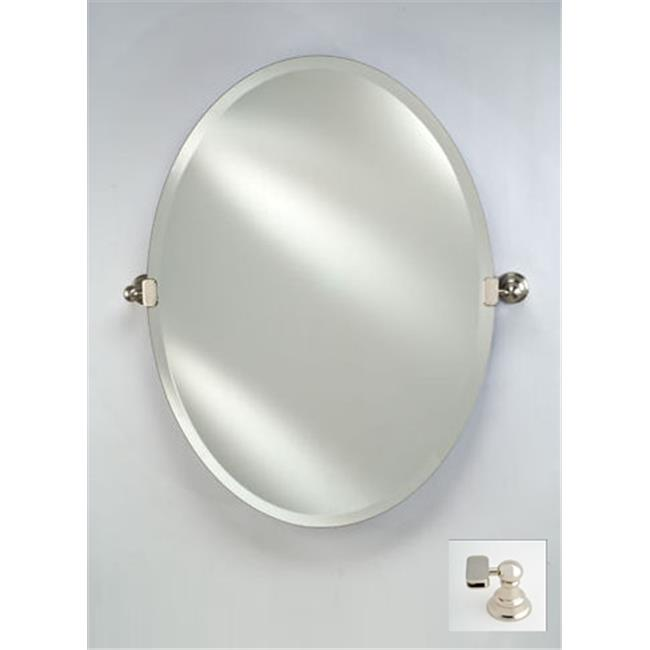 Afina Corporation RM-326-PN-T 18X26 OVAL FRAMELESS WITH T...