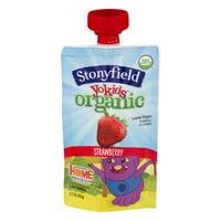74e0045a6d79 Product Image Stonyfield Yokids Organic Lowfat Yogurt Strawberry, 3.7 Oz.