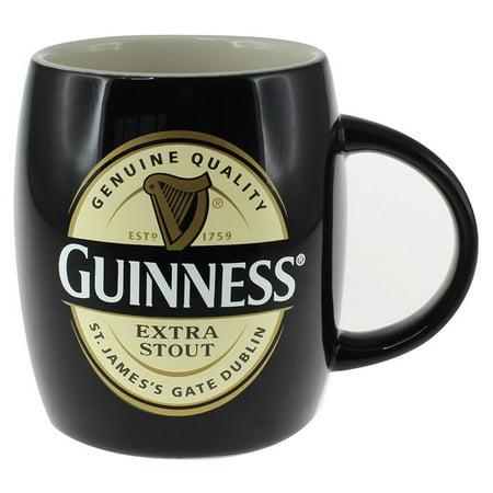 Guinness Label Barrel Mug