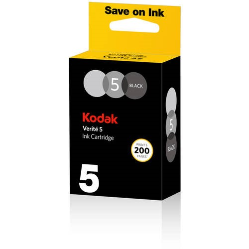 Kodak Verite 5 Standard Black Ink Cartridge