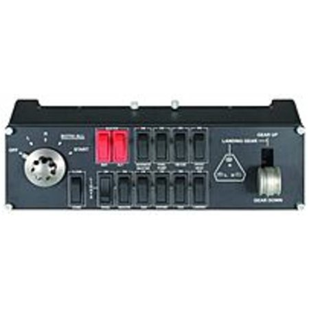 Refurbished Logitech 945-000030 Wired Switch Panel for Saitek Pro Flight Simulator (Logitech Simulator)