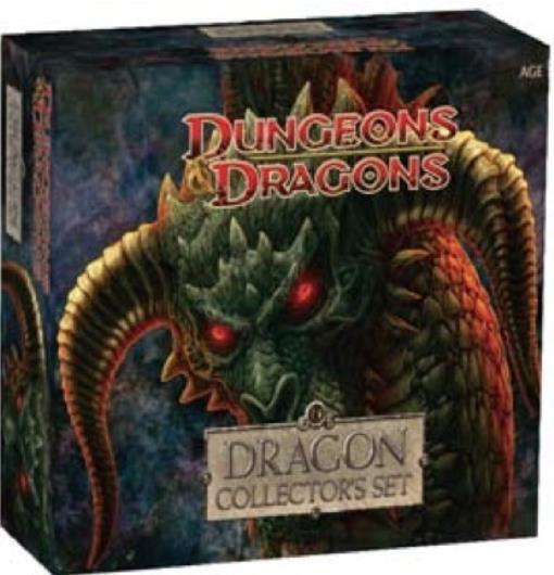 Dragon Collector's Set Great Condition
