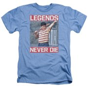 Sandlot Legends Mens Heather Shirt Light Blue