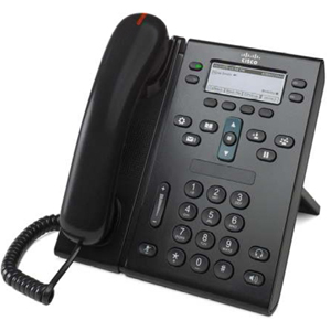 Cisco Unified IP Phone 6941 w  Standard Handset Charcoal by Cisco Systems