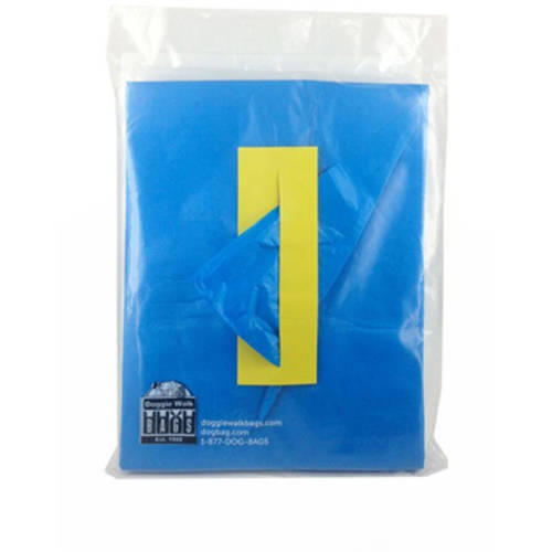Classic Line 60 Pouches of 70 Bags, Blue/BabyPowder