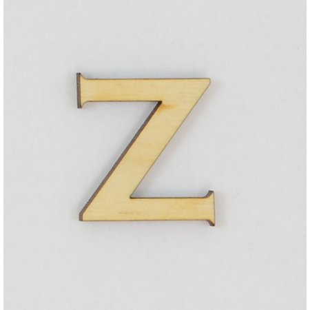 1 Pc, 6 Inch X 1/8 Inch Thick Wood Letters Z In The Copperplate Gothic Bold Font Great For Craft Project & Different Decor](Letter Z Crafts)