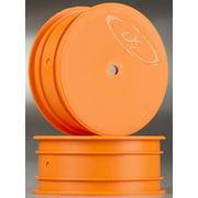 DE RACING DER-SB-LFO Speedline Buggy Wheels Losi 22 Front Orange