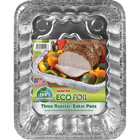 Handi Foil Eco Foil Ultra Roaster Baker Pans 3pk