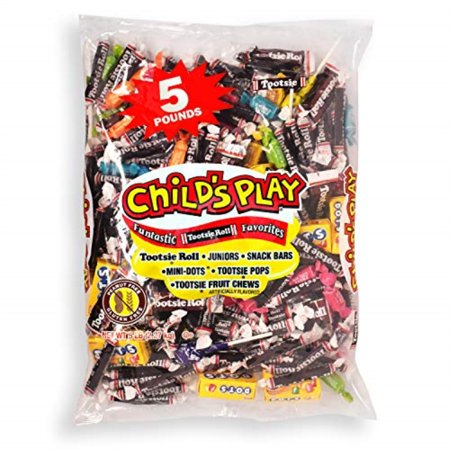 Tootsie Roll Childs Play Assorted Candy Variety Bag - 80oz