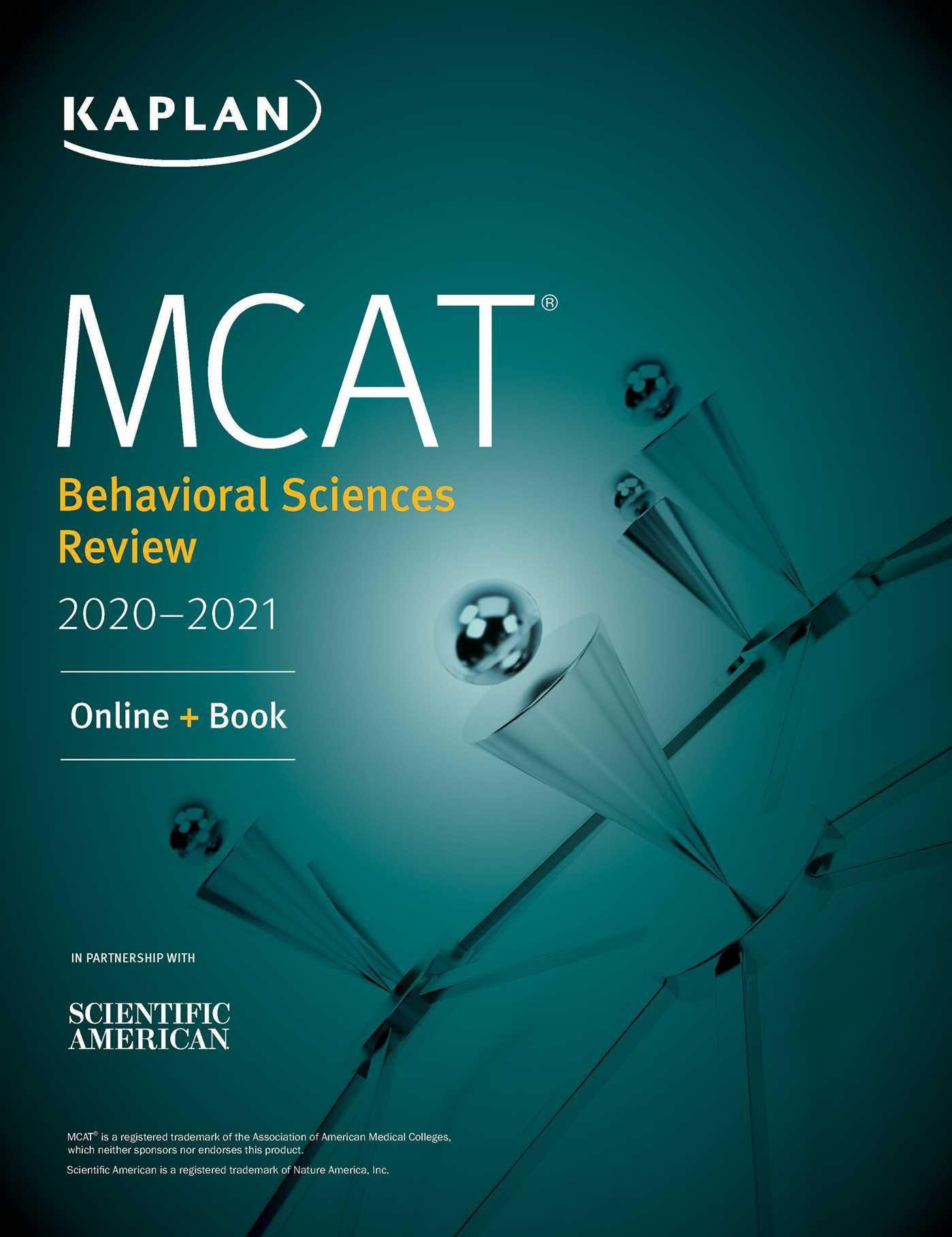 Kaplan Test Prep: MCAT Behavioral Sciences Review 2020-2021: Online + Book  (Paperback)