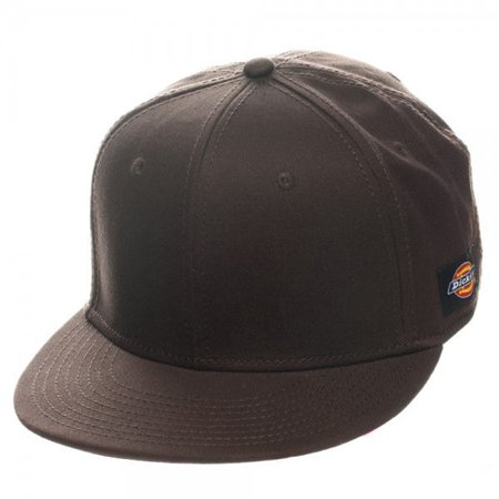 f69d2549b0079 Dickies Core Dark UPS Brown Flatbill Cap - S M Baseball Fitted Adult -  Walmart.com