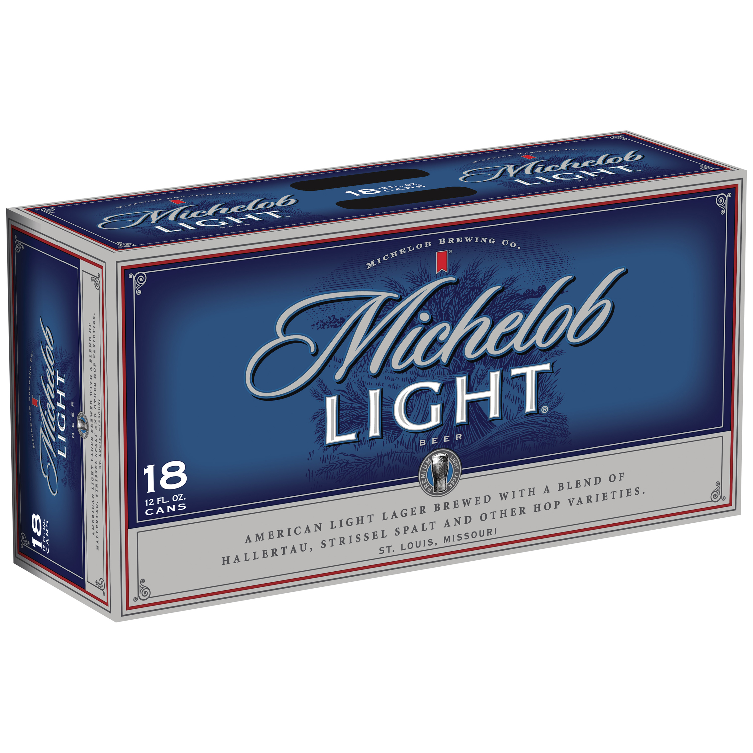 Michelob Light Beer, 18 pk 12 fl. oz. Cans