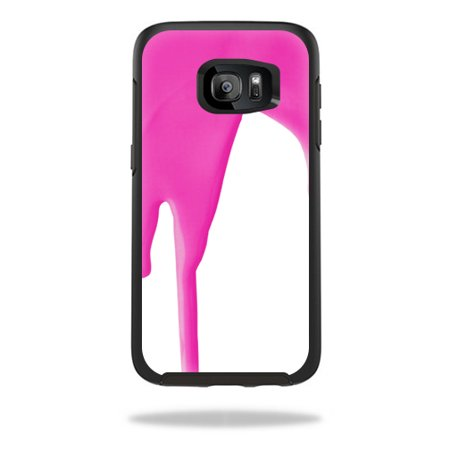 MightySkins Protective Vinyl Skin Decal for OtterBox Symmetry Samsung Galaxy S7 Edge Case wrap cover sticker skins Pink Drip