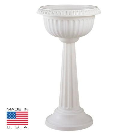 Bloem Grecian Round Pedestal Urn Planter