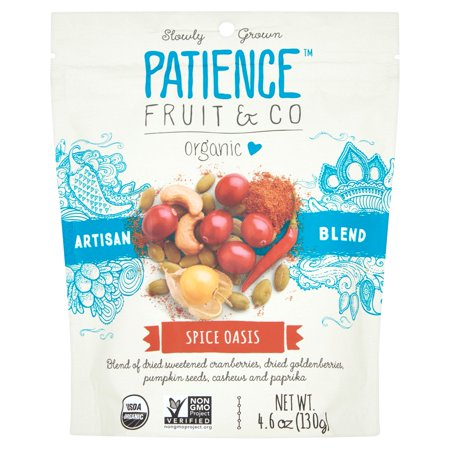 Patience Fruit; Co, Dried Fruit Spice Blend Oasis, 4.6 Oz (Pack Of 8)