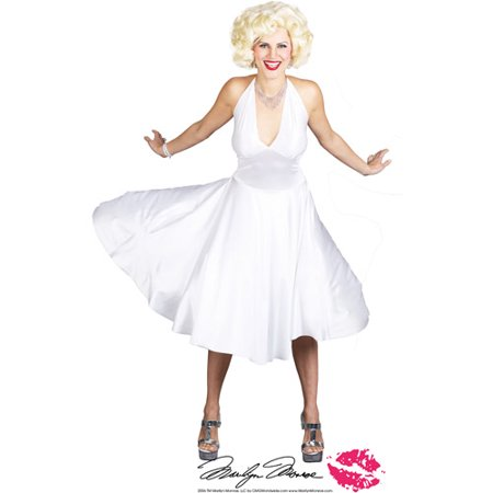 marilyn monroe deluxe adult halloween costume. Black Bedroom Furniture Sets. Home Design Ideas