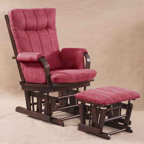 Artiva USA Home Deluxe Glider and Ottoman