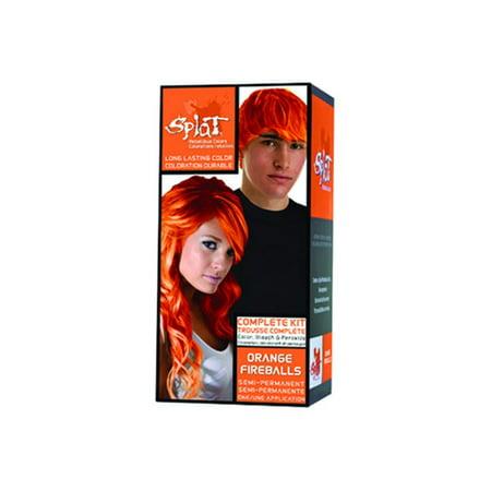 Splat Hair Color Orange Fireballs (Burnt Orange Color Hair)