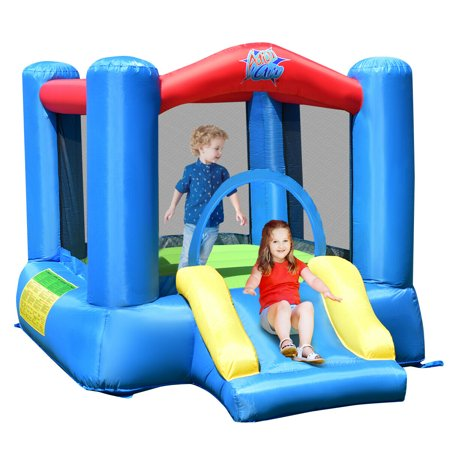Costway Inflatable Bouncer Kids Bounce House Jumping Castle w/ Air Blower Indoor - Inflatable Jumping Toys