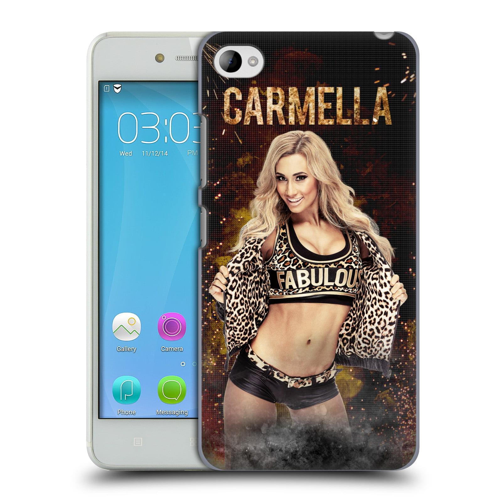 OFFICIAL WWE CARMELLA HARD BACK CASE FOR LENOVO PHONES