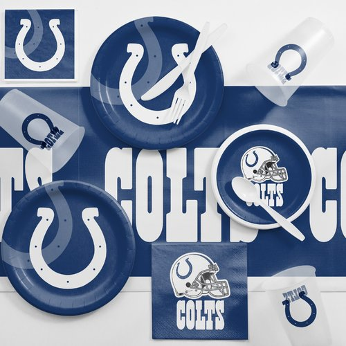 Indianapolis Colts Game Day Party Supplies Kit