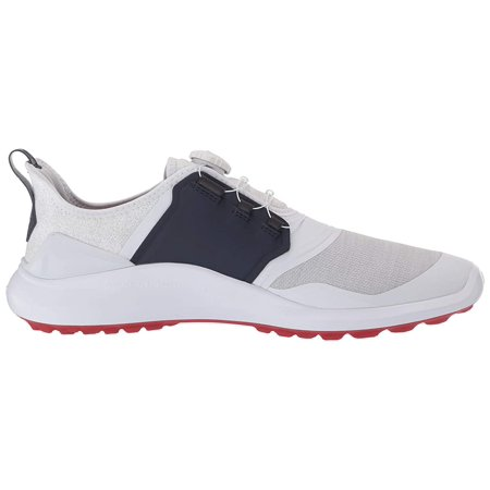 NEW Puma Ignite NXT Disc White/Silver/Peacoat Golf Shoes Mens Size 9.5
