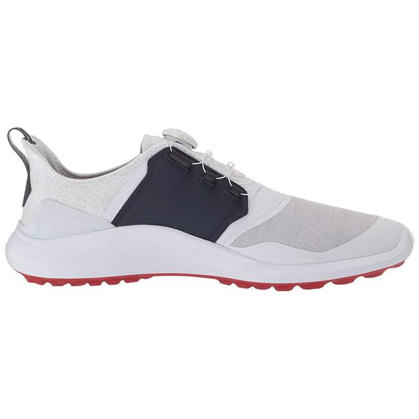 Puma Ignite Nxt Disc Golf Shoes White Silver Peacoat Mens Size 13 Walmart Com Walmart Com