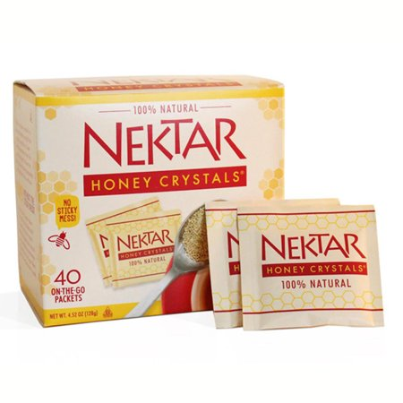 Nektar Naturals Honey Crystals 4 52 Oz Boxes   Pack Of 2